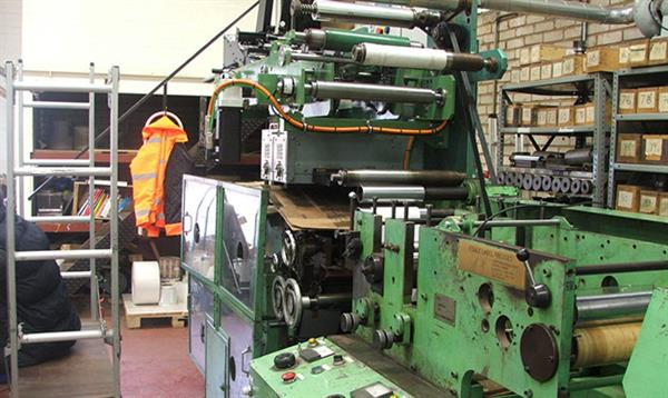 Old Vacuum Embossing Machine