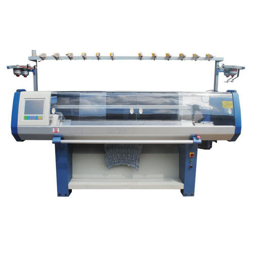 Single Flat bed Knitting Machine