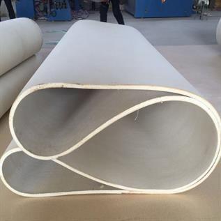 White Endless Nomex Felt Belt