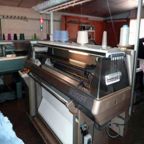 Used Flat Knitting Machine