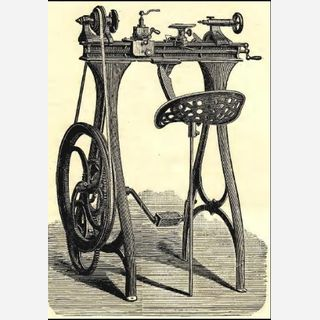 Paddle Operated Spinning Equipment