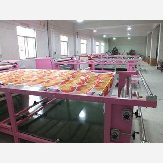 Rotary Heat Press Machine for apparel sublimation printing