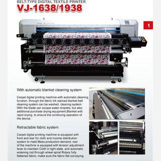Belt Type Digital Textile Printer