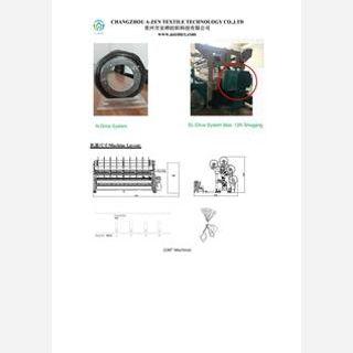 Warp Knitting Machine-Knitting