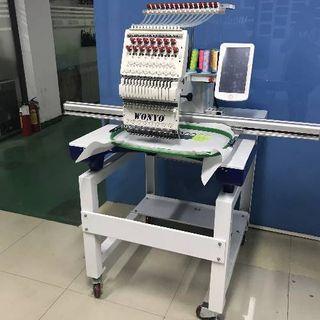 Computerized Single-Head Embroidery Machine