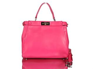 Fendi, White, Black, Yellow, Red, Pink