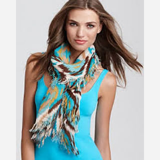 Silk and Cotton, Blue, Black, White, Brown, Grey and multi