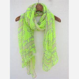 Woolen, Cotton, Linen, Cotton Voile, Neon Colors like pink, yellow, parrot green