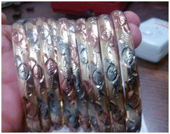 BRASS Diamond , Three Colour