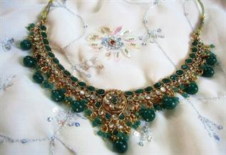 Beads, Pearls, Silver & Gold Coated, Mix Color (Red, Green, Blue, Red)