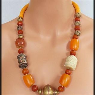 Metal, Pearl, Beads, Multi colors