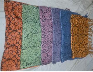 Pure Vscose, Multi color in flower print