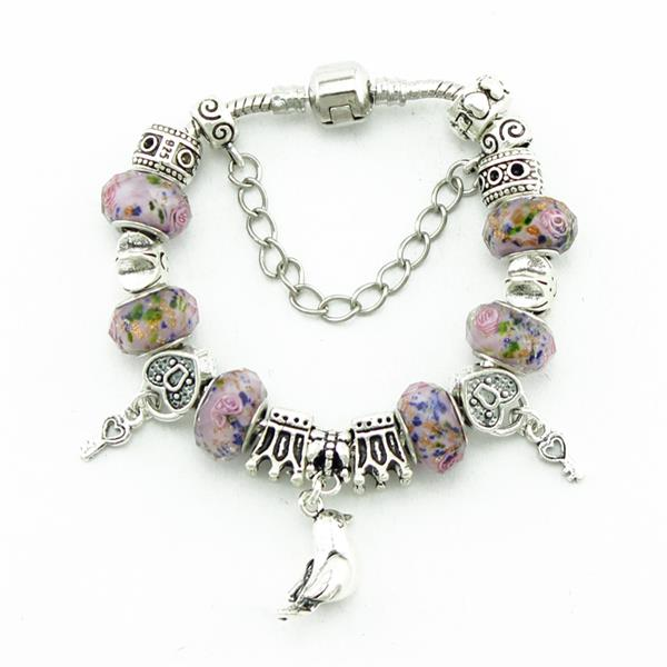 Womens Glass Bead Bracelets