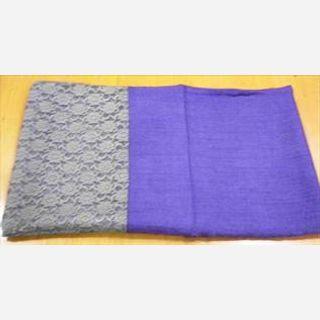 Wool & Cotton Lace, Petal Purple