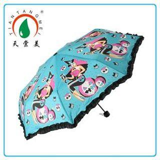 Satin Umbrella, Sky blue