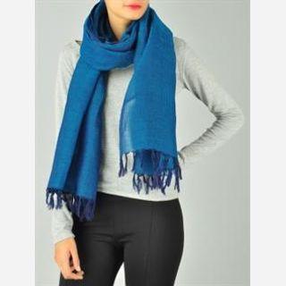 Polyester / Viscose, Silk, Viscose, Linen, Pink, Blue, Green