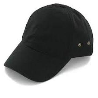 100% Cotton Twill, Black with White Stitch