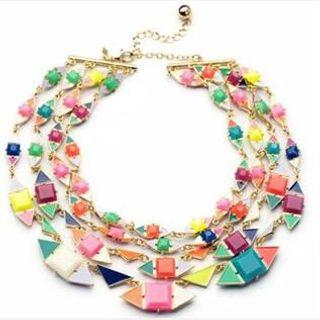 Zinc alloy necklace