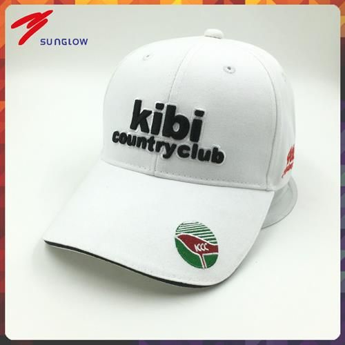 men's white cap
