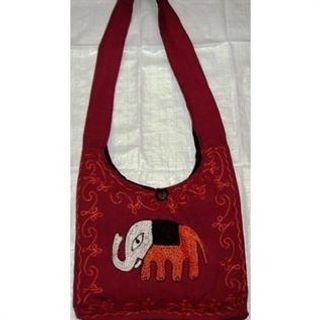 Cotton / Felt, Black / Red / Multi color