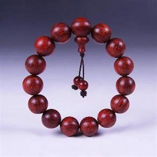 Sandalwood, Red / Bead