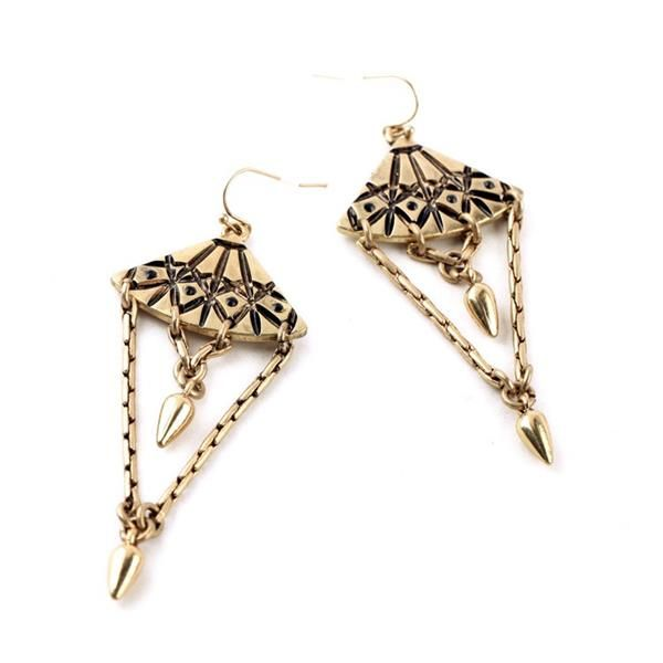 Alloy Antique Earrings
