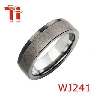 tungsten carbide wedding ring