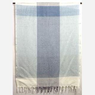 100% Cotton, Mix blue white