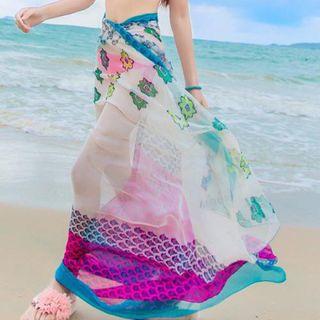 Ladies 100% Silk Sarongs