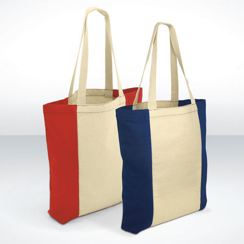100% Canvas Carrier Bags