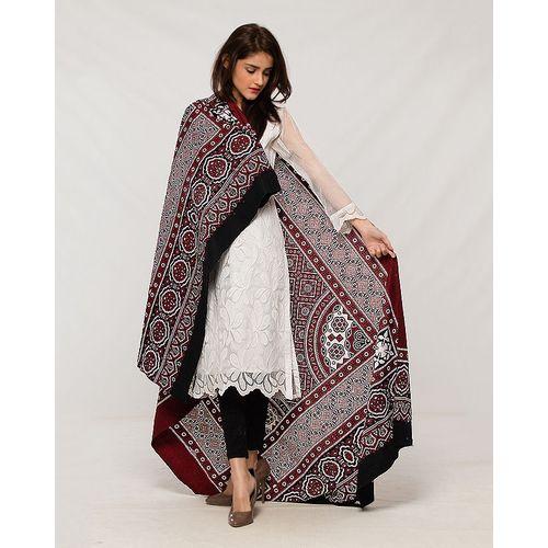 Ladies Sindhi Ajrak Shawl