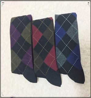 Men's Printed Sock