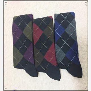 Men's Printed Sock