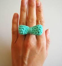 Crochet Ring Finger