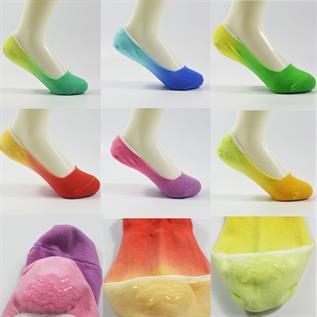 Dip Dye No Show Socks