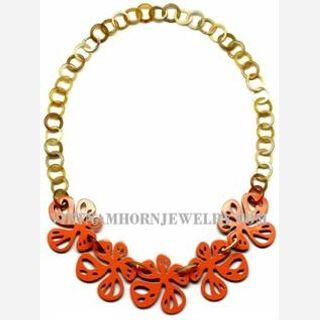 Ladies Horn Necklace