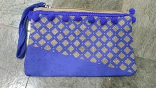 Ladies Jute Pouch