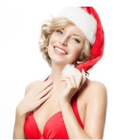 Women's Santa Hat