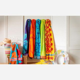Cotton Woven Beach Towels