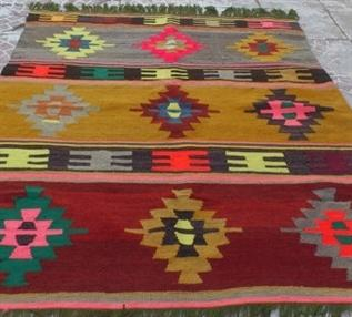 Kilim Rugs, Woven, Knitted, Shrink Resistant