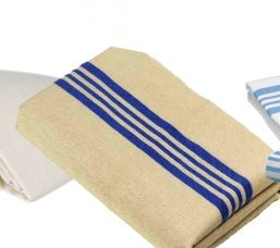 100% Cotton or 80% Cotton/ 20% Polyester, Woven, Unbleached soft hand fabric