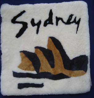 sheepskin wool, handmade, soft and warm  carpet