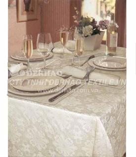 cotton polyester table cover