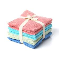 100% Cotton Woven Wash Cloths