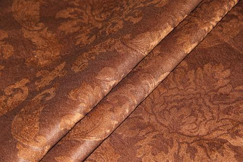 Velvet Fabric with foil printing