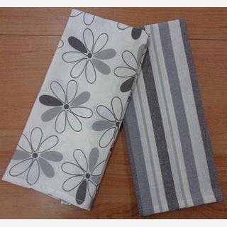 kitchen woven towel