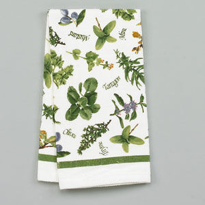 Flower Print Towel