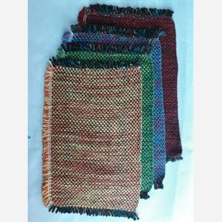Flat Woven Stripe Mat