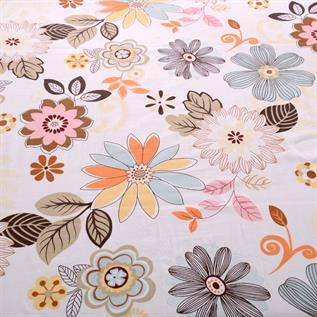 Flower Print Bed Sheet Exporters India
