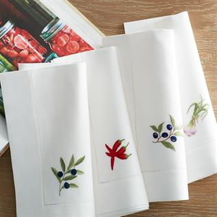 Hand Embroidery Table Napkin